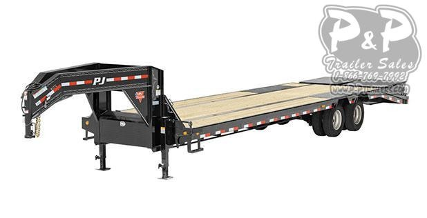 2020 PJ Trailers 14 in. I-Beam Low-Pro with Duals (L3) Flatbed Trailer