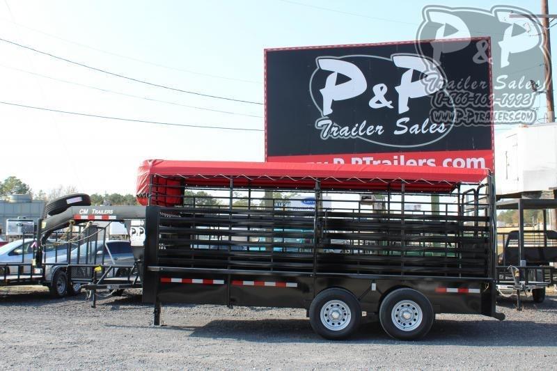 2020 CM CMS9440-16 16 ft Livestock Trailer