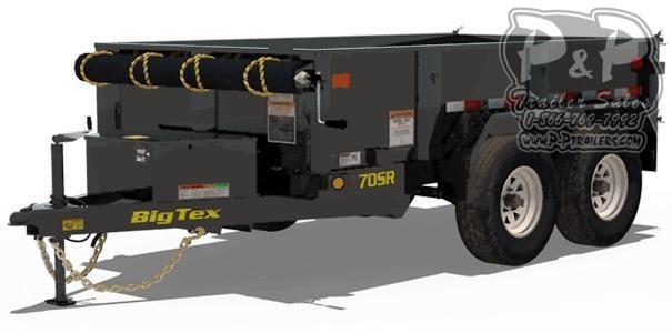 2020 Big Tex Trailers 70SR-10 Dump Trailer