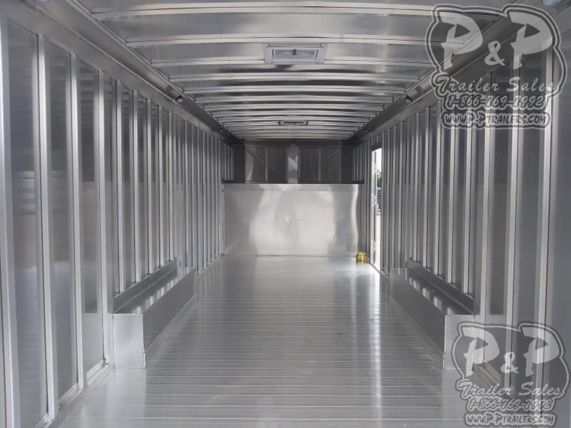 2019 P and P Enclosed Car Haulers 24 Car Hauler 24' Enclosed Cargo Trailer