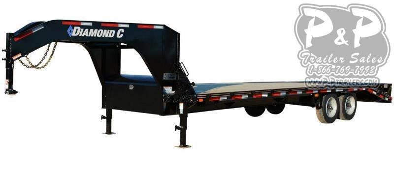 2020 Diamond C Trailers FMAX208 Gooseneck Equipment Trailer