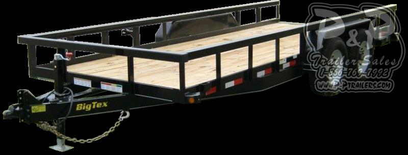 2020 Big Tex Trailers 14PI-16 Equipment Trailer