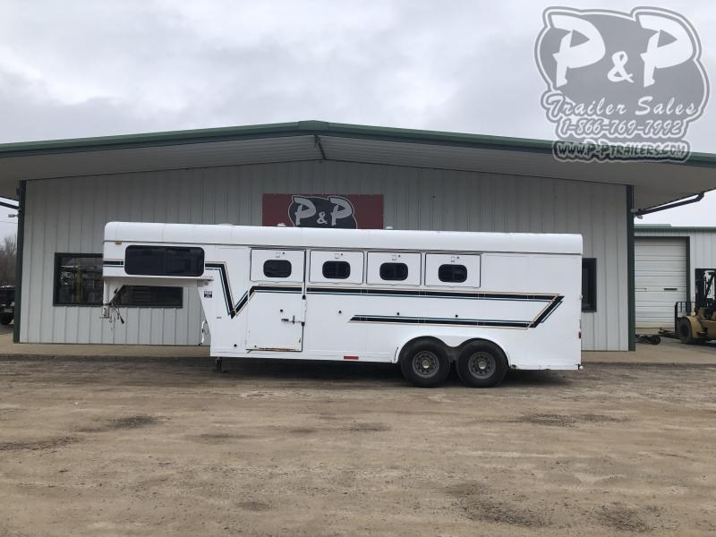 1995 Sundowner Trailers 4H RS 4 Horse Slant Load Trailer