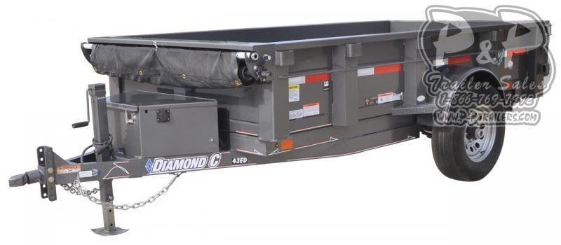 2020 Diamond C Trailers EDS Single Axle Dump Trailer