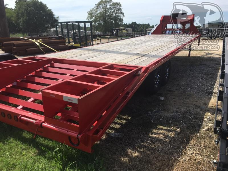 2018 Longhorn Trailers 25+5 Single-GN 30 ft Flatbed Trailer