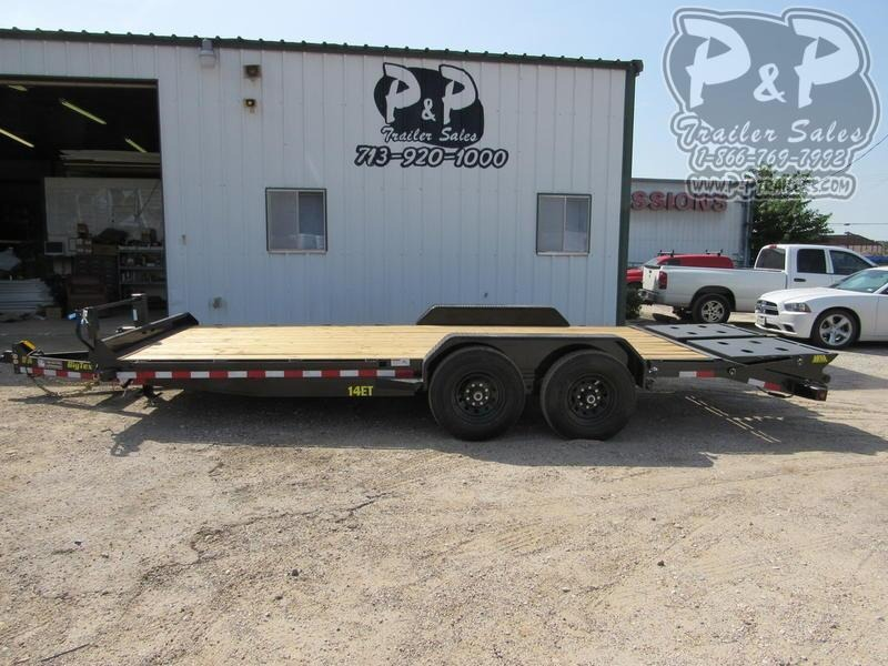 2020 Big Tex Trailers 14ET-20BK-MR 20 ft Flatbed Trailer