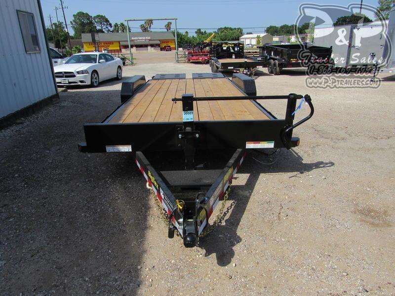 2020 Big Tex Trailers 14ET-20BK-MR 20 ft Flatbed Trailer