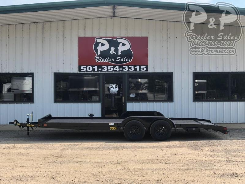 2020 Big Tex Trailers 70CH-20BKDT 20 ft Car / Racing Trailer