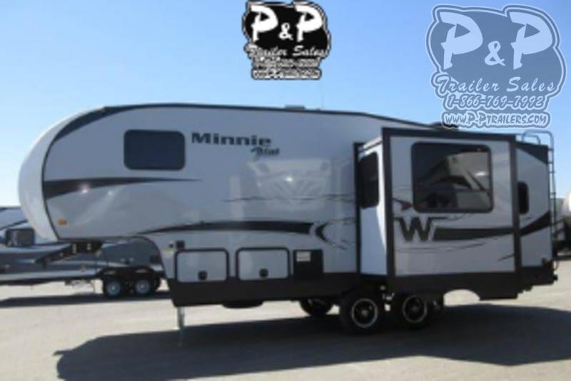 2018 Winnebago Minnie Plus 25RKS 27.25 ft Fifth Wheel Campers RV
