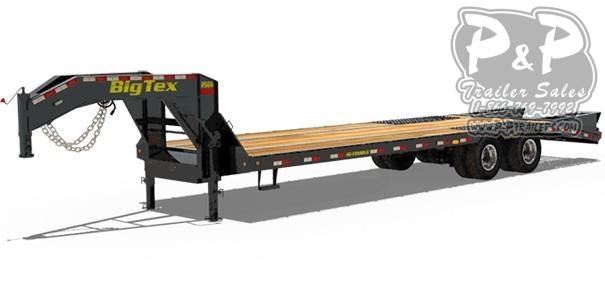 2020 Big Tex Trailers 25GN-35+5 Flatbed Trailer
