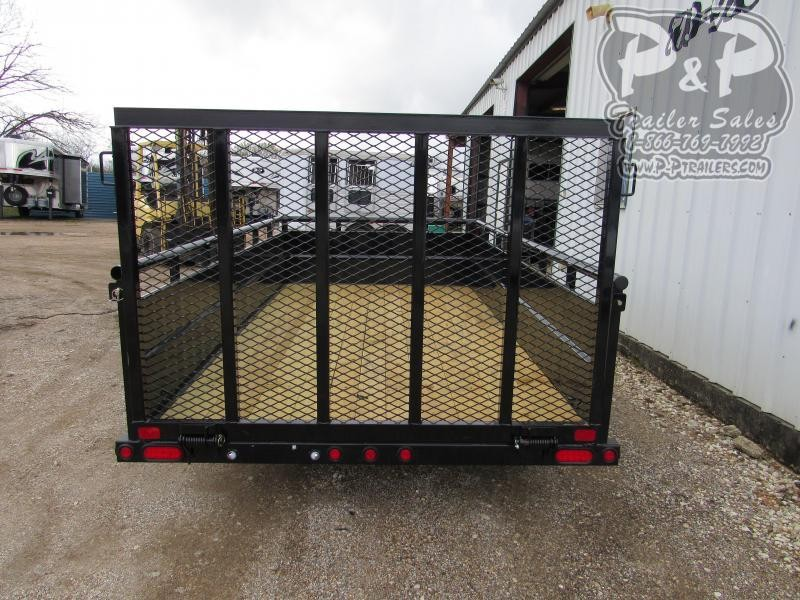 2020 Big Tex Trailers 6.5x12 SAPT 12 ft Utility Trailer