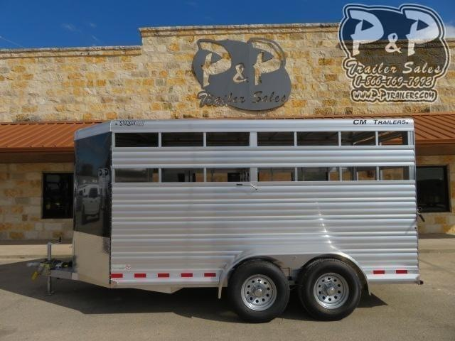 2020 CM CMS0440-16 16 ft Livestock Trailer