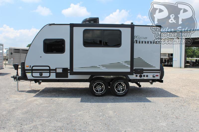 2020 Winnebago Micro Minnie 1808FBS 20 ft Travel Trailer RV