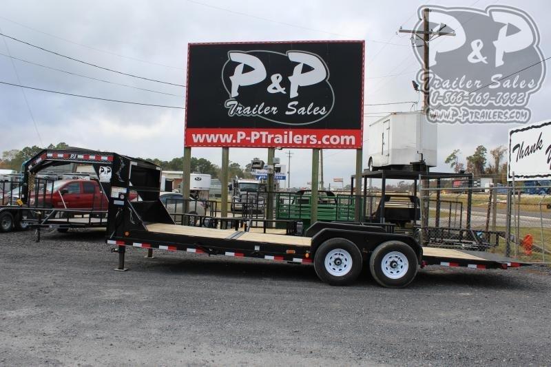 2020 PJ Trailers T6R2272BTTK 22 ft Flatbed Trailer