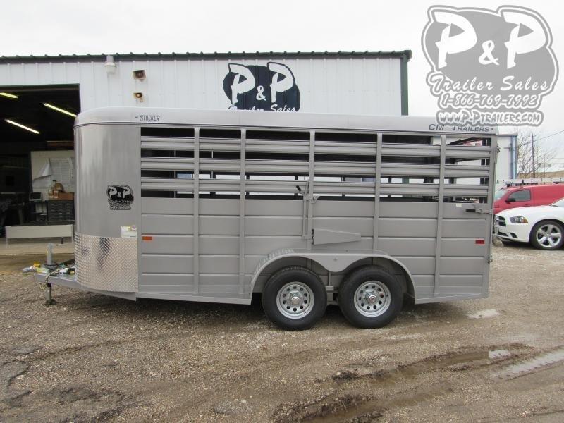 2020 CM 16x6x66  Livestock Trailer