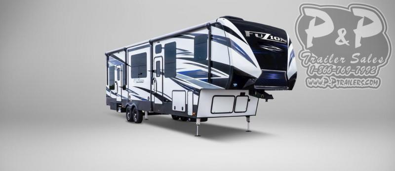 2019 Keystone Fuzion 424 TOY HAULER 44 ft Toy Hauler RV