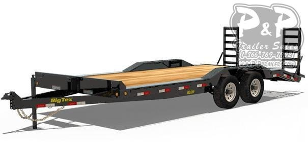 2020 Big Tex Trailers 10DF-20 Equipment Trailer