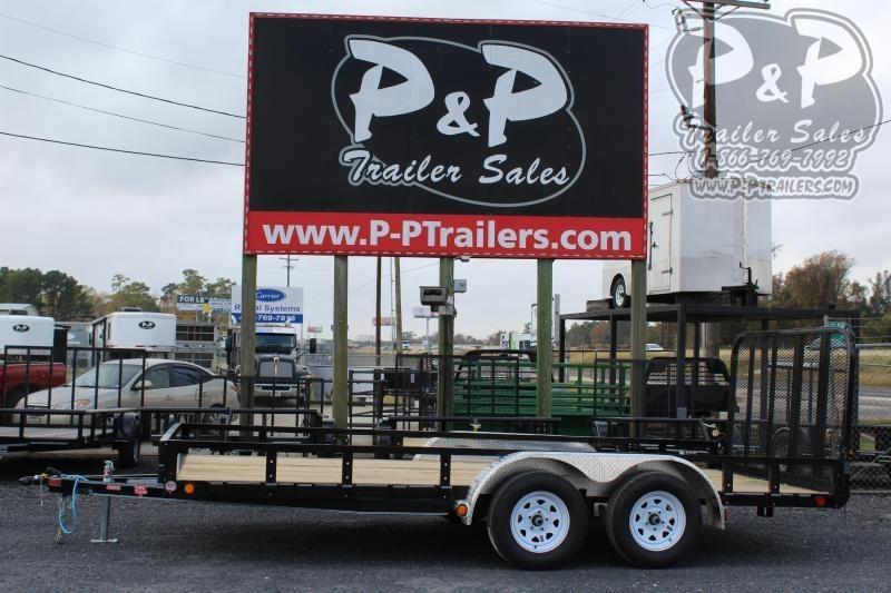 2020 PJ Trailers UL21632CSFKT 16 ft Utility Trailer