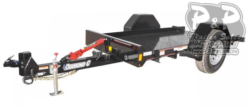 2020 Diamond C Trailers DSA Single Axle Equipment Trailer