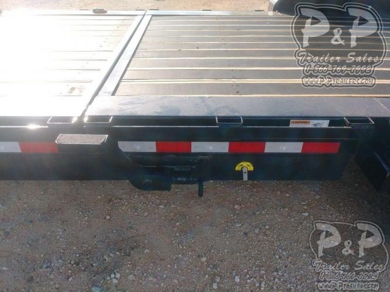 2019 Big Tex Trailers 16TL 22GN 22 ft Flatbed Trailer