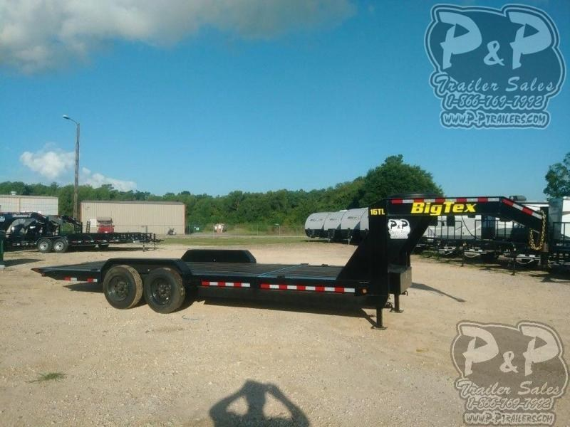 2020 Big Tex Trailers 16TL 22GN 22 ft Flatbed Trailer