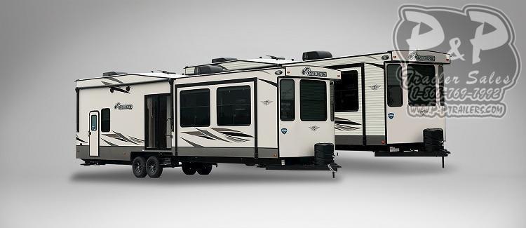 2020 Keystone Other (Not Listed) Residence 401LOFT DESTINATION TRAILER 40.67 ft Travel Trailer RV
