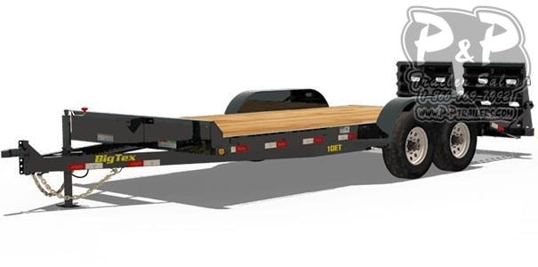 2020 Big Tex Trailers 10ET-20 20 ft Equipment Trailer