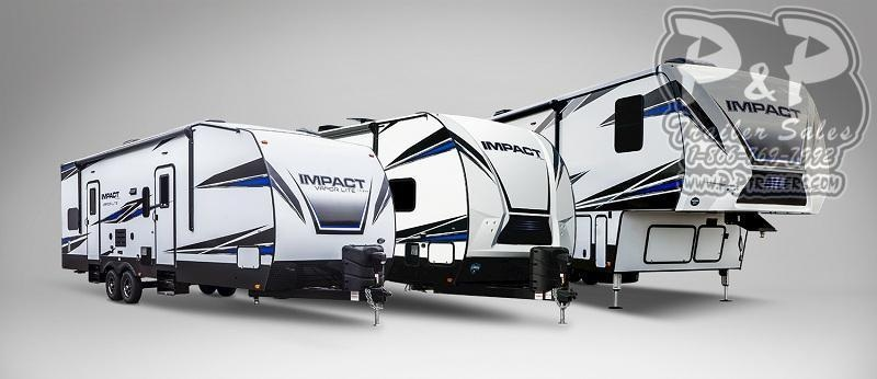 2019 Keystone Impact 343 39 ft Toy Hauler RV