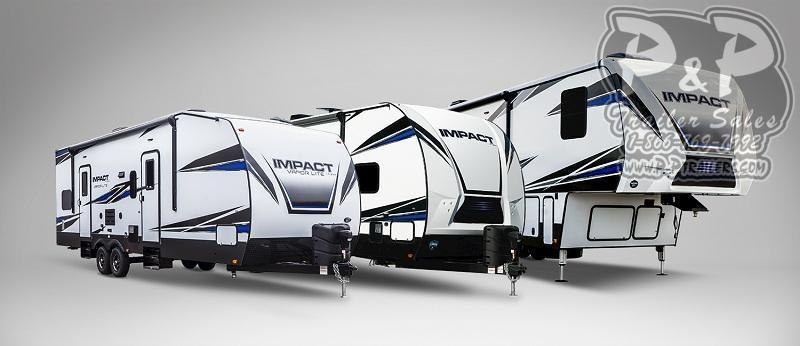 2020 Keystone Impact 343 39 ft Toy Hauler RV
