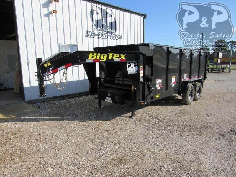 2019 Big Tex Trailers 14GX-16BK 16 ft Dump Trailer