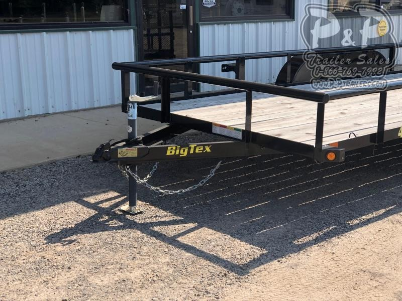 2020 Big Tex Trailers 45SS-16BK4RG 16 ft Utility Trailer