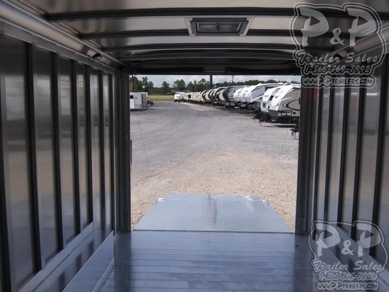 2019 P & P Enclosed Car Haulers 20' Car Hauler