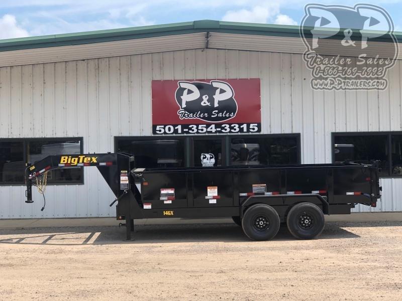 2020 Big Tex Trailers 14GX-16BK7SIRPD 16' Dump Trailer