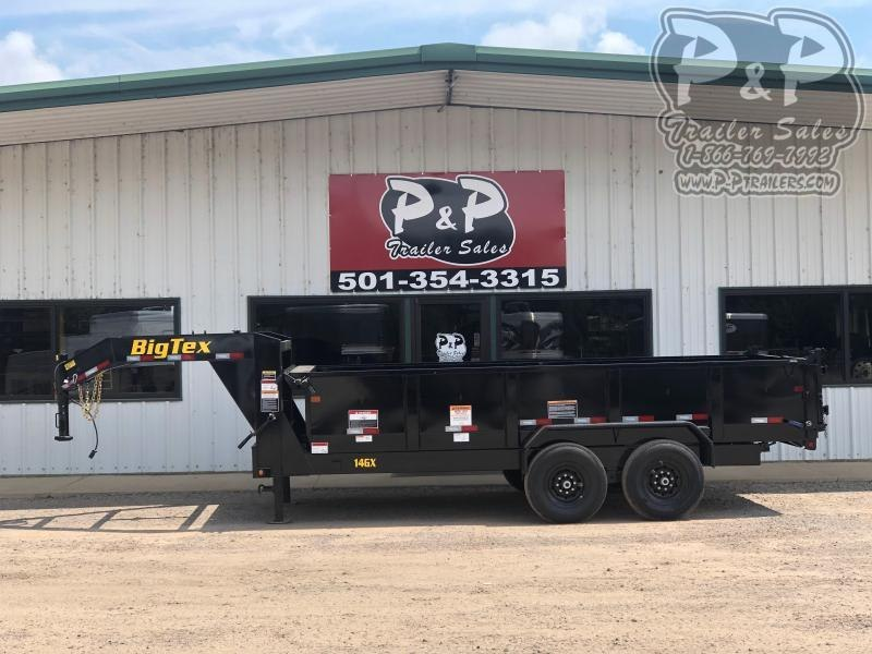 2020 Big Tex Trailers 14GX-16BK7SIRPD 16' Dump Trailer