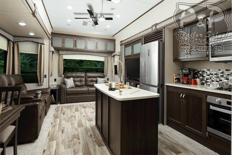 2020 Keystone Other Residence 401RDEN DESTINATION TRAILER 40.92 ft Travel Trailer RV