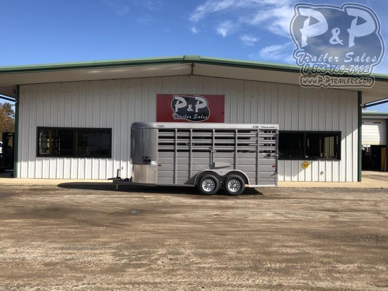 2019 CM CMS6630-1600235 16 ft Livestock Trailer