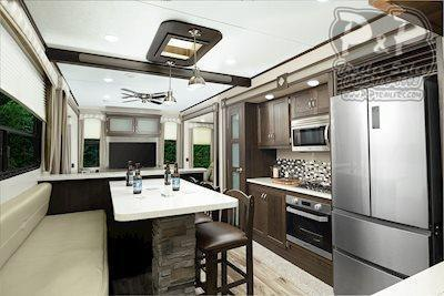 "2020 Keystone Other Residence 40FDEN DESTINATION TRAILER 40'11"" ft Travel Trailer RV"