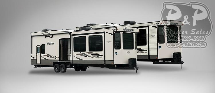 "2020 Keystone Other Residence 40FDEN DESTINATION TRAILER 40'11"" ft Travel Trailer RV"
