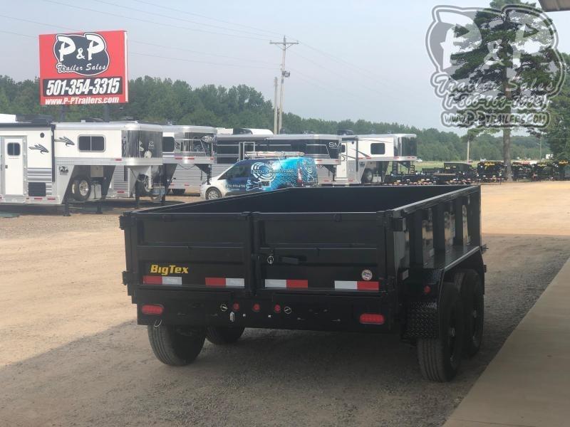 2020 Big Tex Trailers 90SR-10BK7SIR 10' Dump Trailer