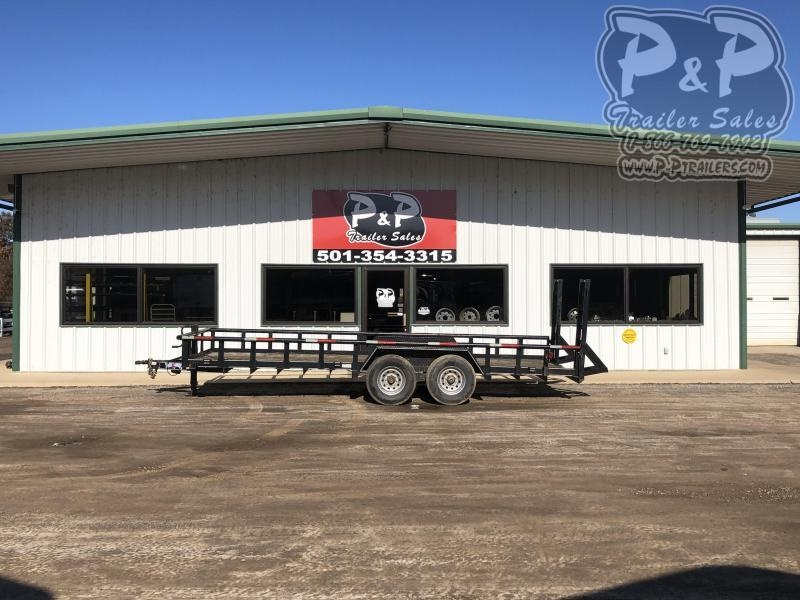 2011 Texas Bragg Trailers 83X20UT 20 ft Utility Trailer