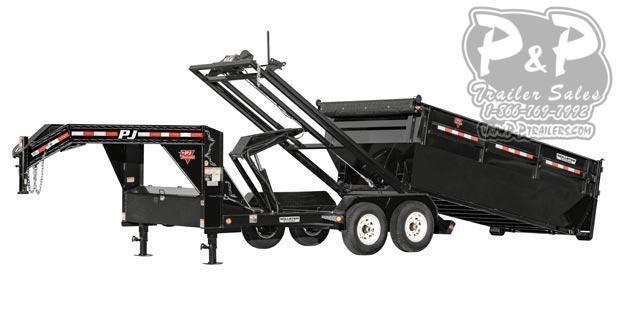 2020 PJ Trailers Rollster Roll Off Dump (DR) Dump Trailer