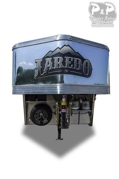 2019 Bison Trailers Laredo 8011LDRSSTLT Livestock Trailer