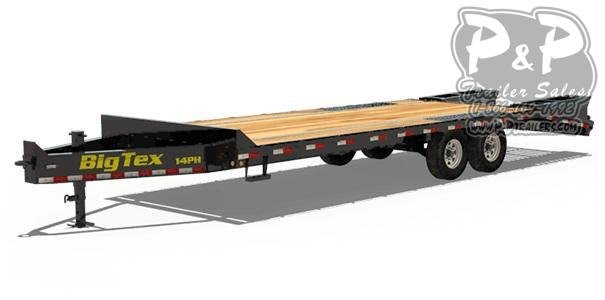 2020 Big Tex Trailers 14PH-20+5 Equipment Trailer