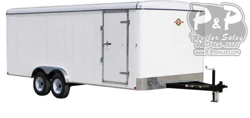 2020 Carry-On 8.5X16CGEC Enclosed Cargo Trailer