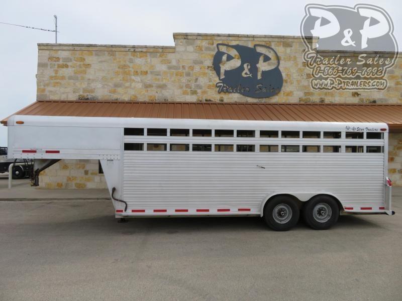 1994 4-Star Trailers 20' 20 ft Livestock Trailer