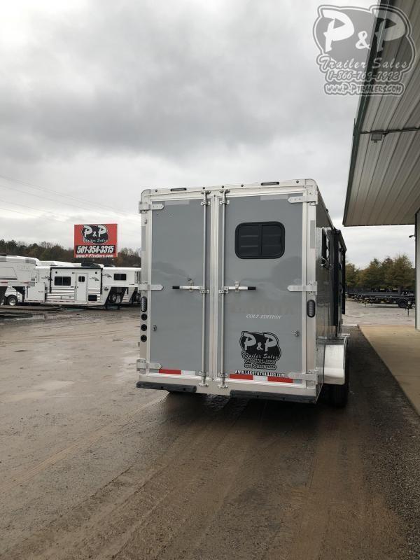 2020 Lakota Colt AC39 3 Horse Slant Load Trailer 9 FT LQ