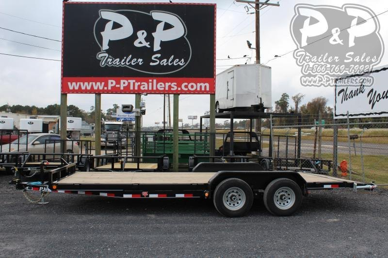 2020 PJ Trailers CEJ2052ES2KT 20 ft Flatbed Trailer
