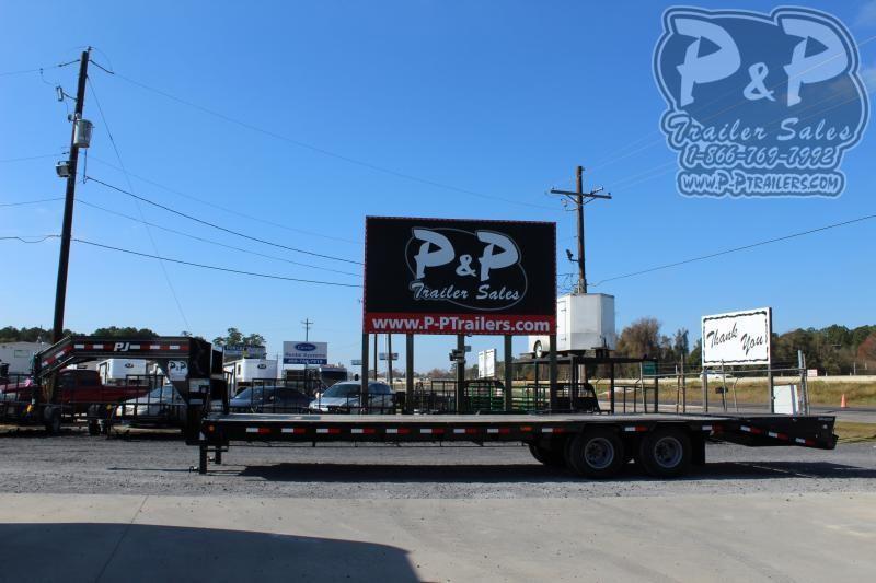 2020 PJ Trailers PHDT255X102HDMRLP 30' Flatbed Trailer