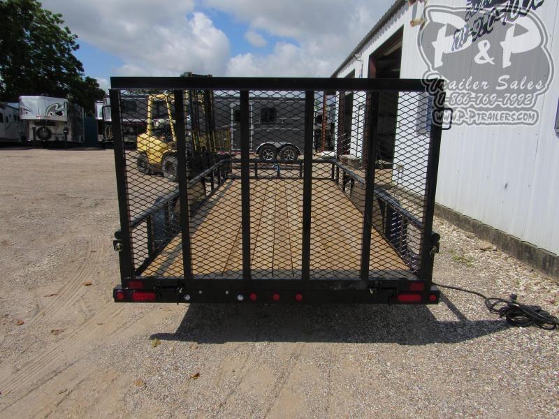 2020 Big Tex Trailers 60PI-16BK4RG 16 ft Utility Trailer
