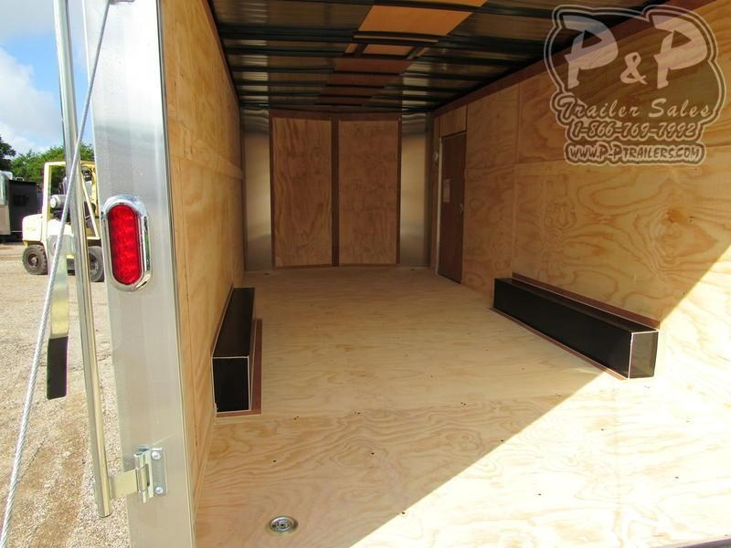 2019 Carry-On 8.5 X 20' CGRBN 20 ft Enclosed Cargo Trailer